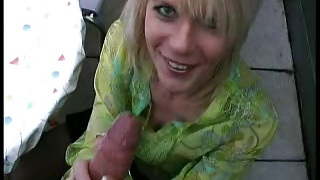 Hot German MILF picked up & FUCKED ANAL